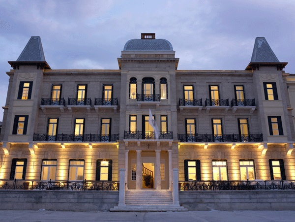 The Poseidonion Grace in the historical heart of Spetses.