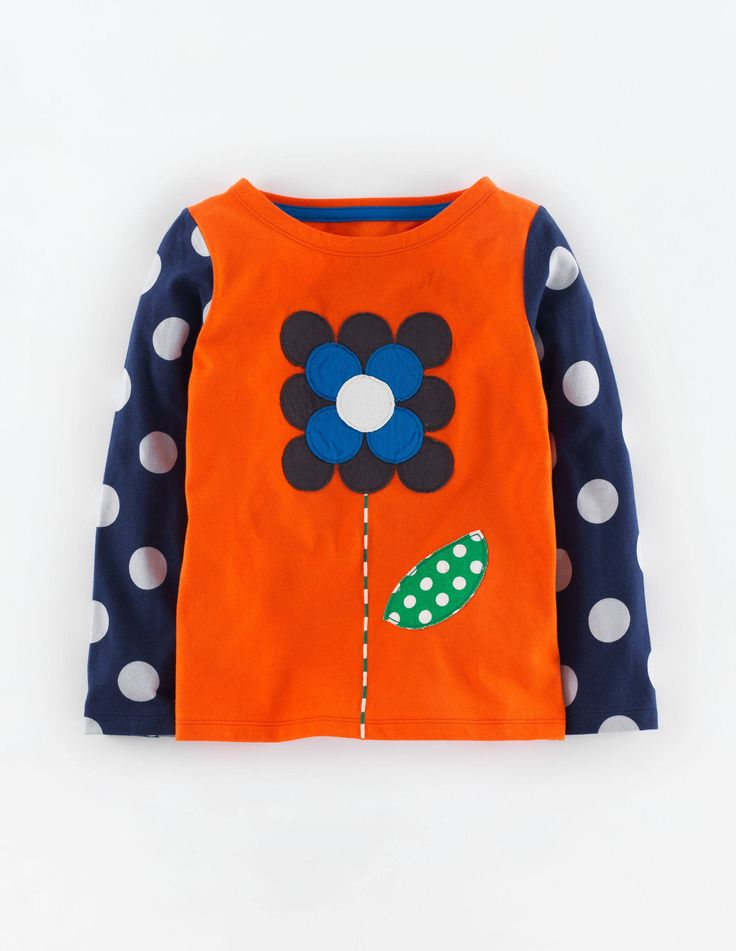 """Mini Boden Pop Art T-Shirt. """"We think it's hard to look at these without smiling. Bold designs and bright colours on our pure premium cotton jersey which wears and washes so well."""" #NewBritish"""