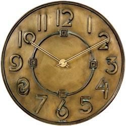 Frank Lloyd Wright wall clock