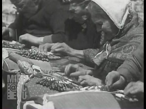 Dentellières, Bruges 1929 - YouTube