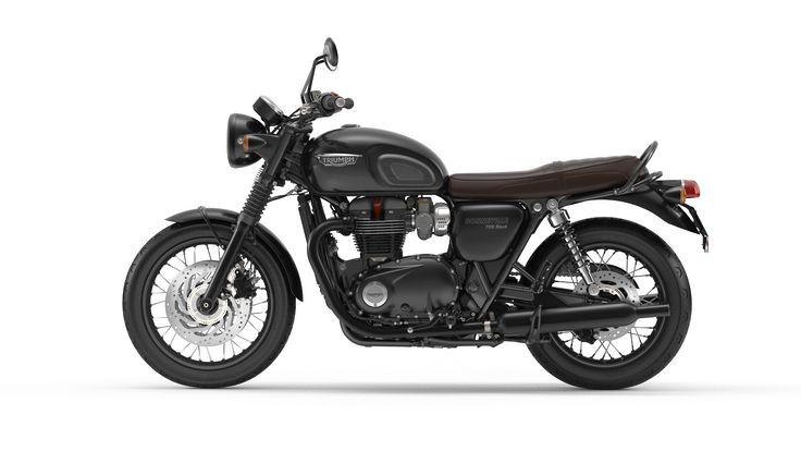 Bonneville T120 Black. I want!