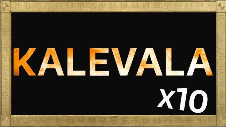 Berättelser om hur världen blev till, om hjältar, skurkar och onda makter, om mytiska föremål och magiska skeenden - det är Kalevala. På Kalevaladagen firar vi den finska kulturens dag.