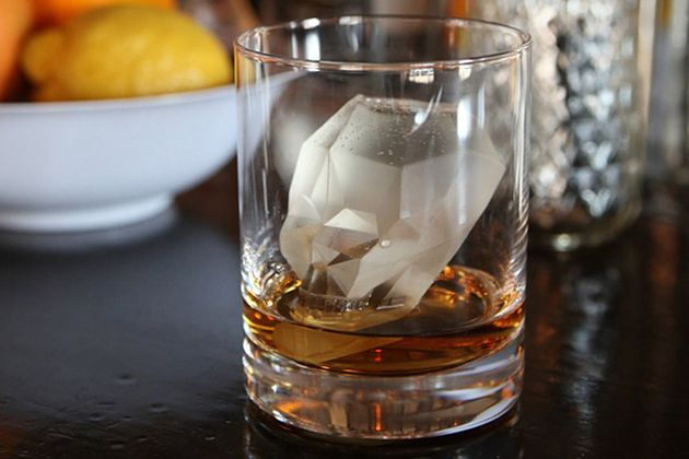 22 of the Coolest Ice Cube Trays - Skull Ice Cube Mold (shown)