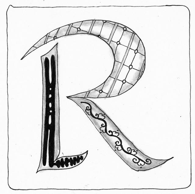 109 Best Zentangle Doodle Alphabet Images On Pinterest Graphics