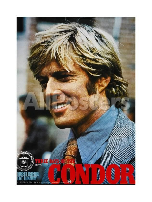 Three Days Of The Condor Japanese Poster Robert Redford 1975