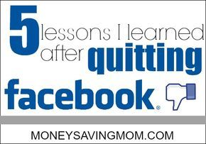 Quitting facebook