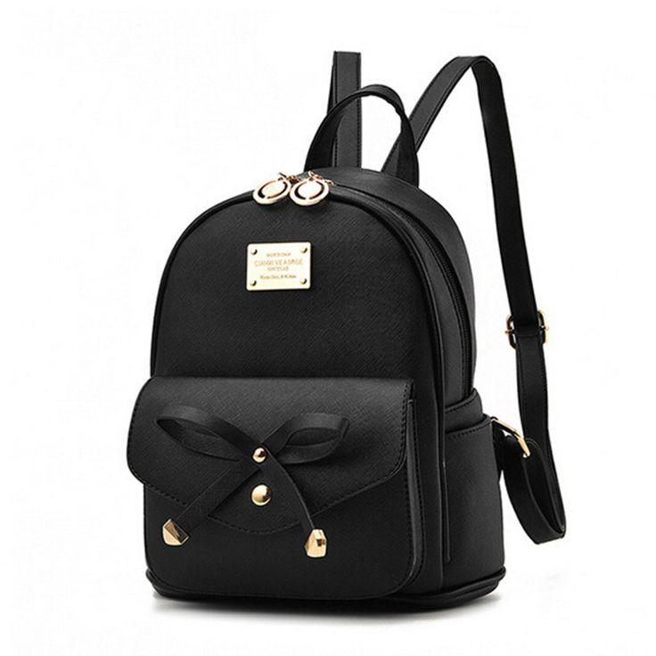 COOL WALKER Fashion Women Backpack For Girls New Backpacks Black Backpacks Female Small Girls Bags Ladies Leather Backpacks Moch