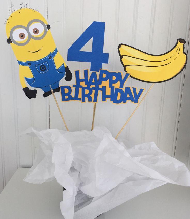 Best 25 Happy Birthday Minions Ideas On Pinterest: Best 25+ Minion Centerpieces Ideas On Pinterest