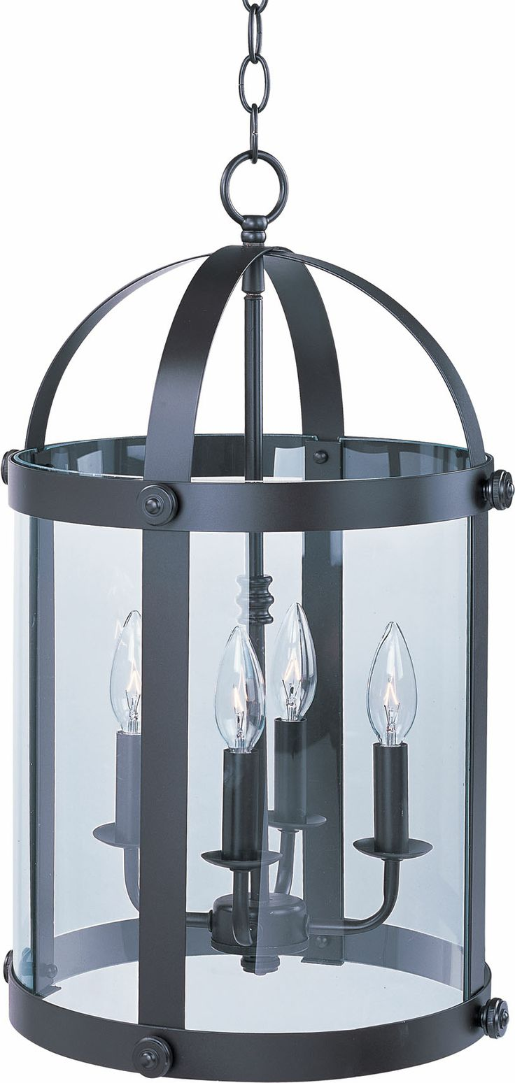 banded metal pendant with an oil rubbed bronze finish and curved glass panes product material metal and glasscolor oil rubbed
