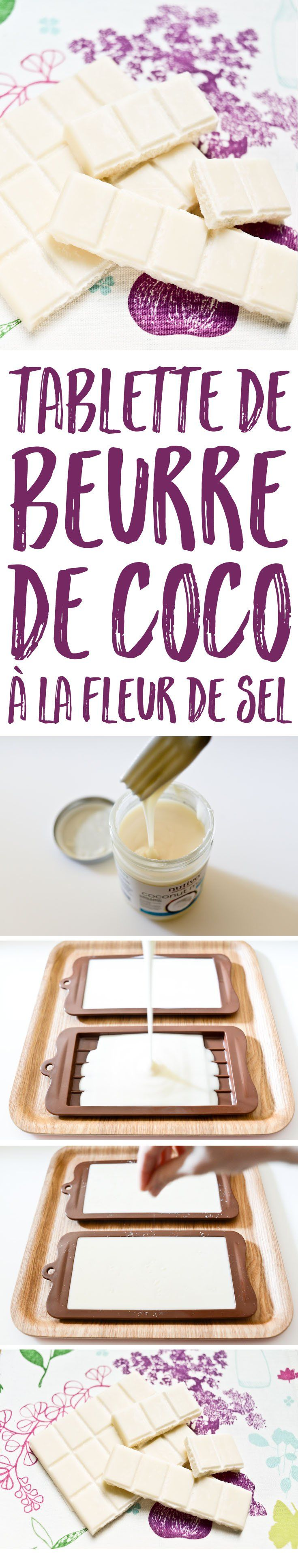 Pour un en-cas sain et satisfaisant, réalisez ces tablettes de beurre de coco super simples et délicieuses, et aromatisez-les selon votre goût !