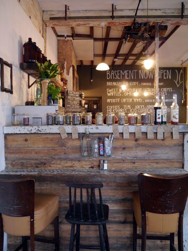 Creperie du Monde  London urban interior style design lifestyle bar idea  Coffee Shop in