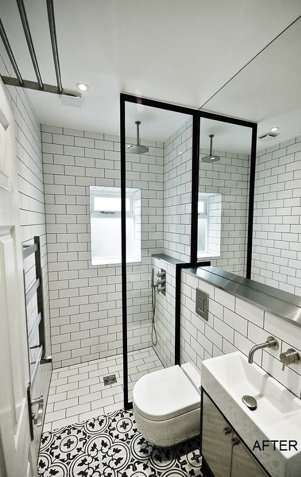 #136 Gallery | Fabco Sanctuary & The Steel Window Company shower screens x 2 for the shower area but simple straight area.