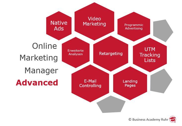 Weiterbildung zum Online Marketing Manager Advanced (IHK). Alle Infos gibt's hier.