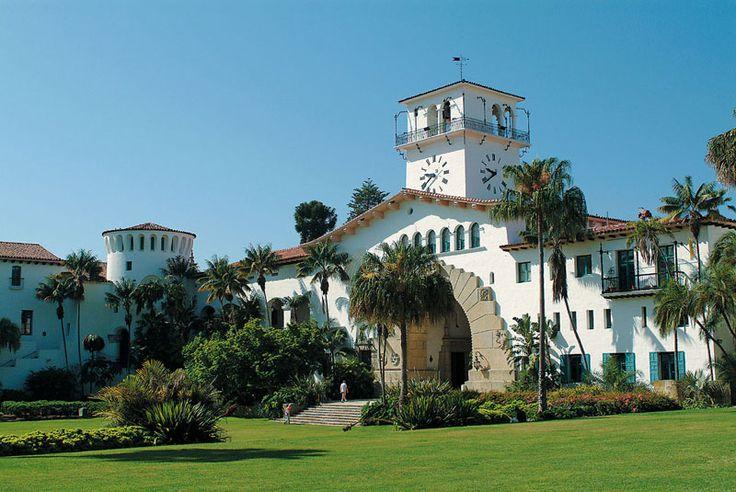 Santa Barbara Court House. Rob tells me I need to see this. Very pretty.