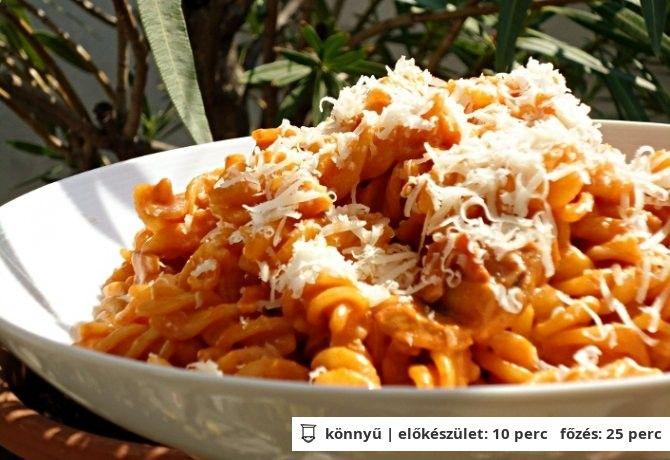 Fehérboros gombás csirkés tészta | NOSALTY – receptek képekkel