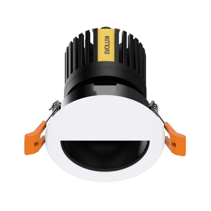 MagicDownlight LED Medialuna Blanco