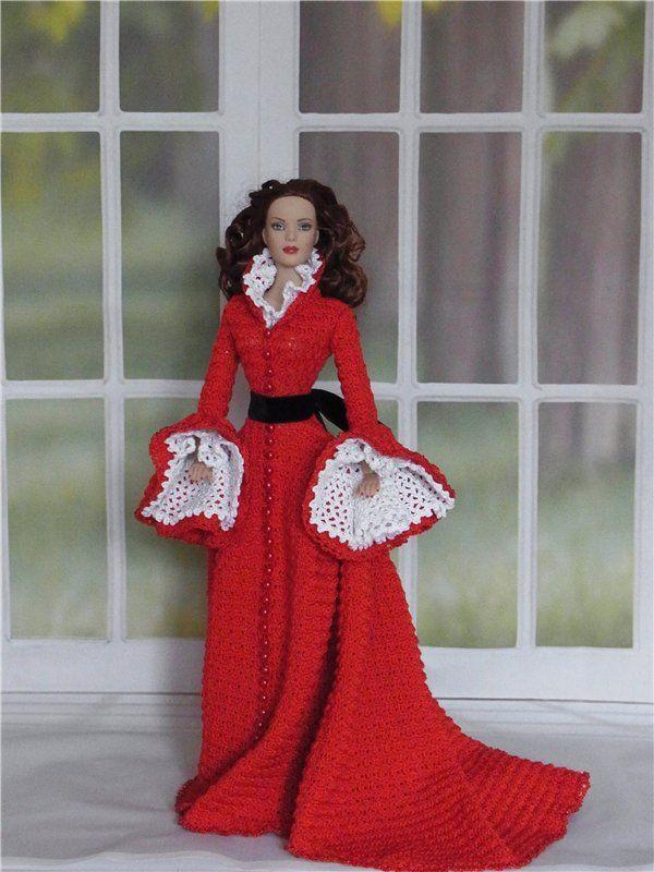 Вязаные наряды для кукол Тоннер / Одежда и обувь для кукол - своими руками и не только / Бэйбики. Куклы фото. Одежда для кукол