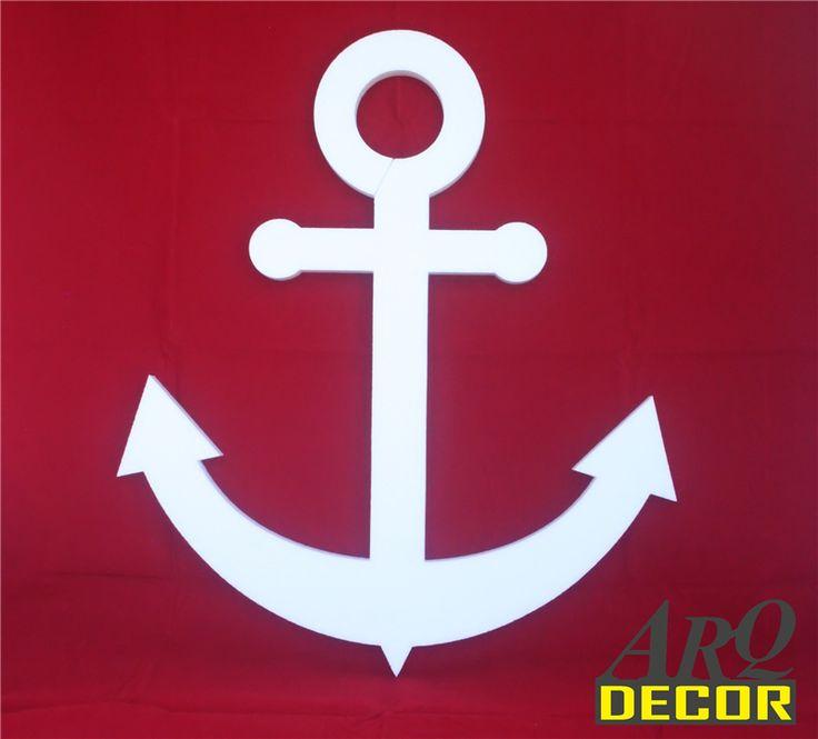 Pracownia Dekoracji ARQ - DECOR - Kotwica Styropianowa - Dekoracje Styropianowe EPS ( NA ZAMÓWIENIE)