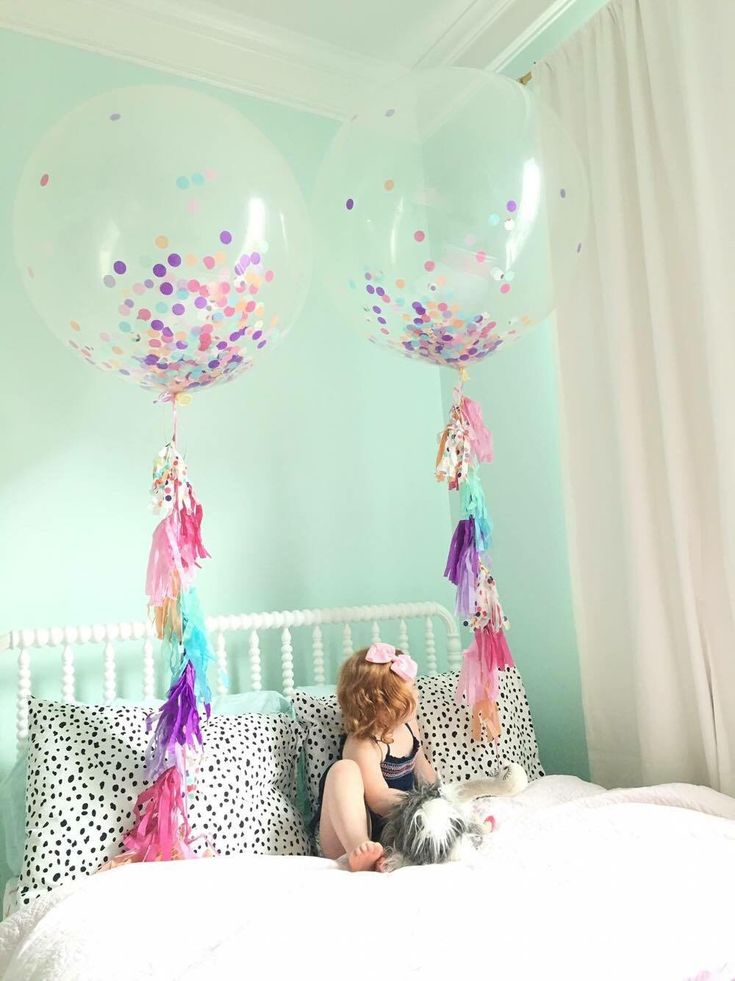 "Jumbo Confetti Balloons - Confetti Stuffed Balloons - Jumbo Balloons with Tassel Tail - 3ft Balloons - 36"" Balloons by MagnoliaBloomBtq on Etsy https://www.etsy.com/listing/398821565/jumbo-confetti-balloons-confetti-stuffed"
