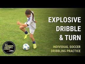 Soccer Dribbling Drills For Kids Explosive Dribble #soc... 1