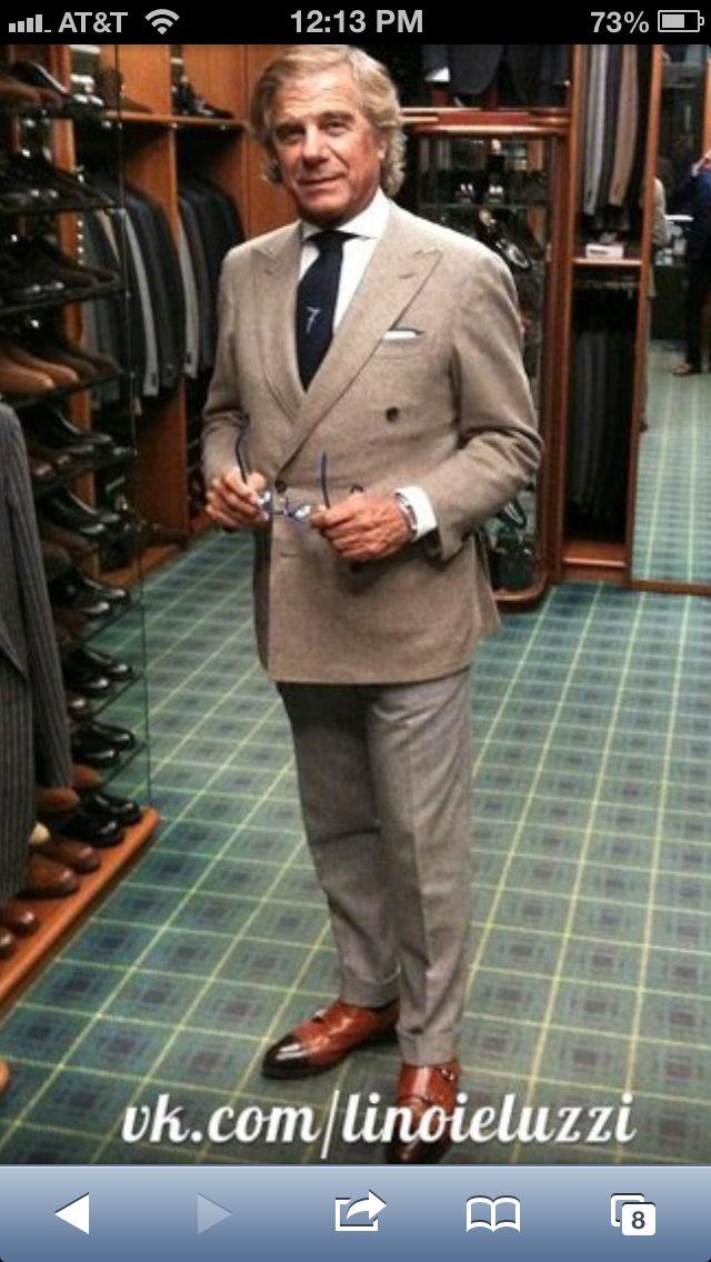 Don Lino Ieluzzi of Milano! A star  in the world of Italian Men's fashion!