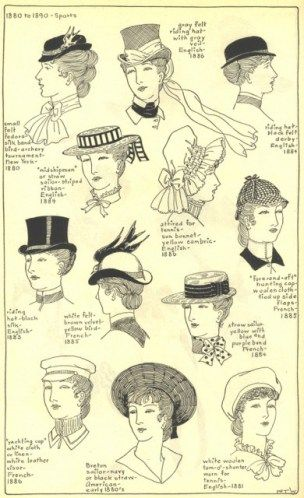 Victorian Hats 5