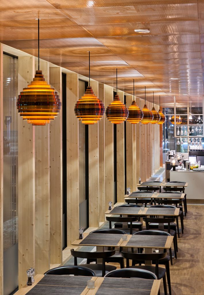 ZERO lighting - Project pictures of the Pxl fixture by ZERO Lighting at Hotel Birger Jarl