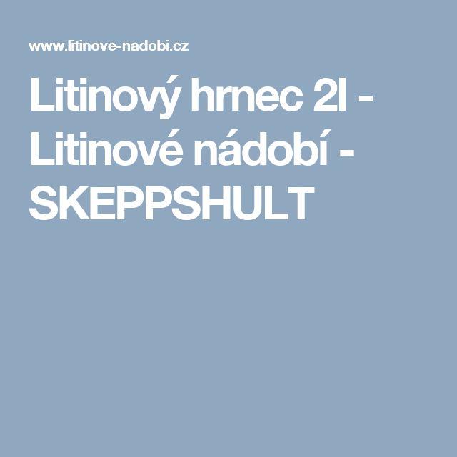 Litinový hrnec 2l - Litinové nádobí - SKEPPSHULT