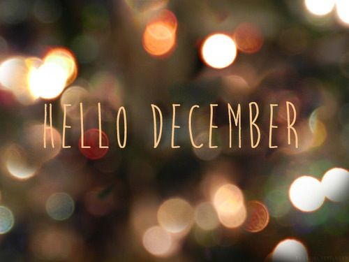 Hello December, I have just caught up to you via the little things:
