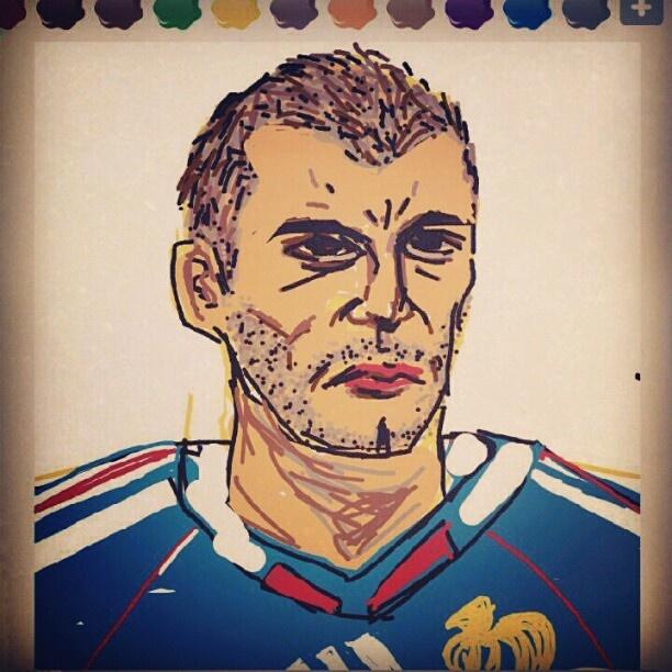 Zinedine Zidane of France / RealMadrid football star player / soccer Madrid / 지네딘 지단 / 프랑스 / 레알 마드리드 / 축구 / 월드컵