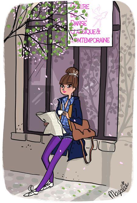 Violette / Coffee Art / Coffee Shop Stuff