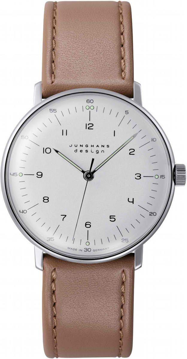 Max Bill Stainless Steel Wrist Watch MB-3701 visit shopbalthazar.com