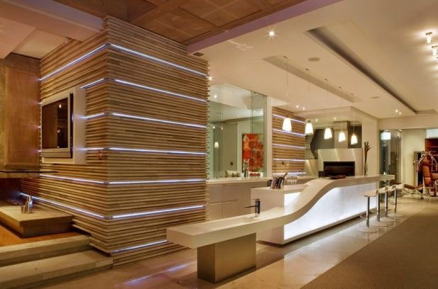 Streamlight. Residential Design, Johannesburg, South Africa / Lighting Design