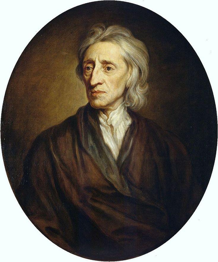 John Locke was geboren op 29 augustus 1632 in Wrington en is gestorven op  28 oktober 1704. Volgens John hebben alle mensen gelijke rechten. Iedereen is vrij en gelijk. De natuur maakt geen onderscheid tussen de mens. Dat noem je natuurrechten.