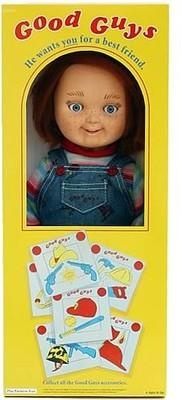 I found 'Child's Play 12-Inch Good Guy Doll Chucky Replica - Yamato USA' on Wish, check it out!