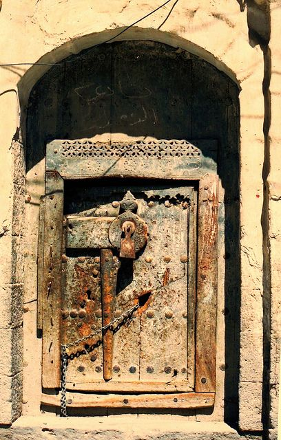 Doorway, Yemen   David & Bonnie