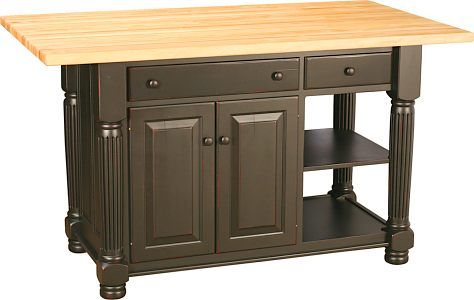 Kitchen cabinet doors bc - Kitchen Island Crafted In The Heart Of Ohio S Amish