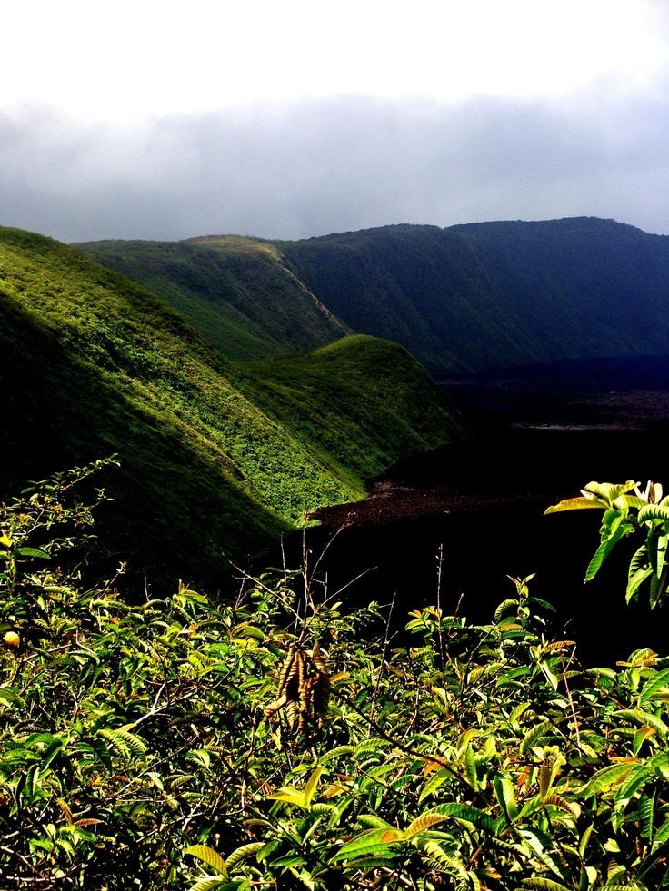 Volcano Sierra Negra Isabela Island - Galapagos.... Hiked this!