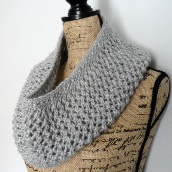 Mesh Lace Cowl can make you cozy, feel pretty and will keep your neck warm all…