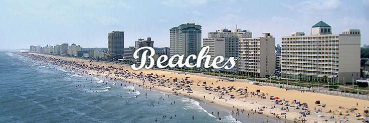The Chesapeake Bay, Resort Area and Sandbridge make up 35 miles of Virginia Beach's beloved coastline