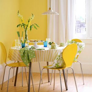Color Psychology In Interiors Yellow RoomsYellow Dining