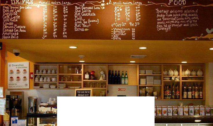 Favorite cafe in Boston