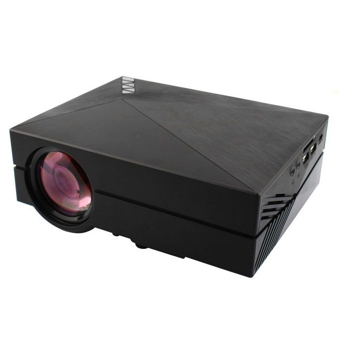 GM60 Mini Digital HD Home Theater Projector w/ HDMI, USB, SD - Black - Free Shipping - DealExtreme #electronics