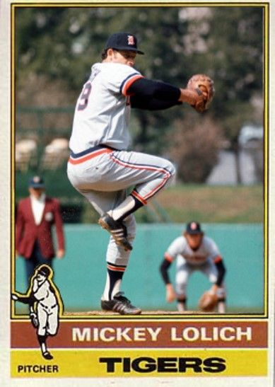 Mickey Lolich Detroit Tigers