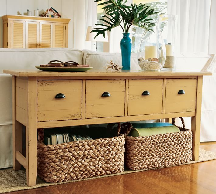 Sofa Tables Pottery Barn: 75 Best Pottery Barn Furniture Images On Pinterest