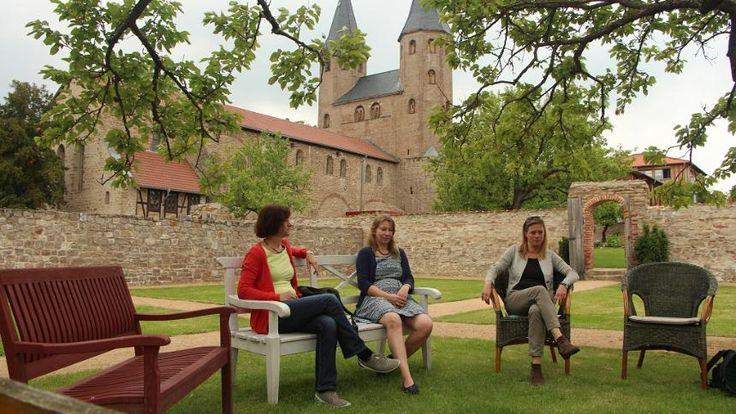 Schweigetage im Kloster Drübeck: Mühsames Nichtstun - SPIEGEL ONLINE