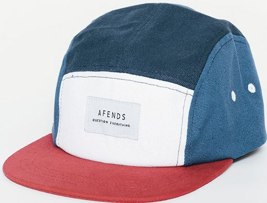 Captain America 5-Panel Hat by AFENDS