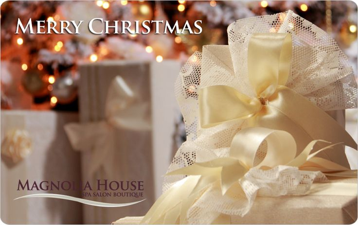 An Instant Gift for Everyone on Your List  Magnolia House makes it easy to gift. Instant Gift Cards can be customized for either a specific amount or an amount of your choice.  If you need a very last minute gift, our online Gift Cards are available through Christmas Day!  OR  Come in and Purchase at one of our 2 locations   $250 Gift Card and receive a FREE $50 spa voucher  $150 Gift Card and receive a FREE $25 spa voucher