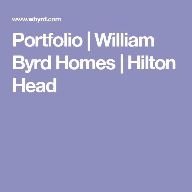 Portfolio | William Byrd Homes | Hilton Head