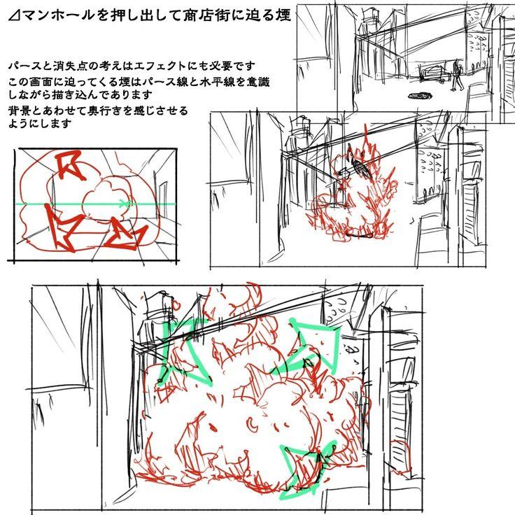 理屈に基づいた爆発の描き方まとめ [26]